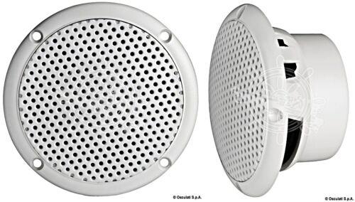 Sound Marine White Double Cone UV Resistant 40 Watt 3 Stereo Speakers