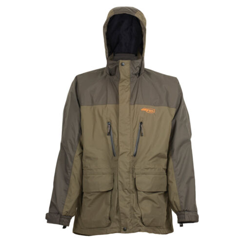 Airflo Defender Olive Twin Layered 100/% Wind//Waterproof 3//4 Fly Fishing Jacket