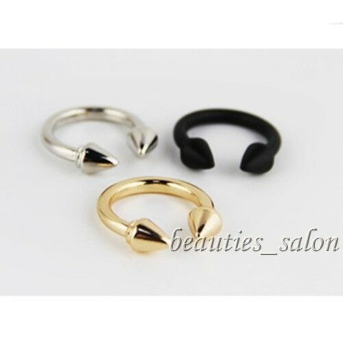 Women Fashion Open Ring Triangle Design Gothic Punk Style Finger Ring- 3 Colors