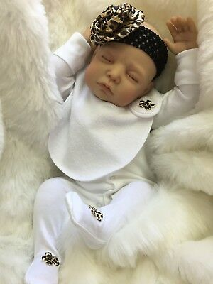 Cherish Dolls New Reborn Doll Baby Aria Fake Babies Realistic 22 Newborn Girl Ebay