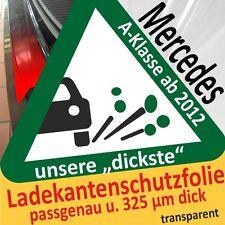 für Mercedes A-Klasse W 176 Ladekantenschutz Folie Lackschutzfolie Schutzfolie