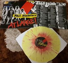 Philippine Violators- At Large LP/Vinyl Re-issue, Limited Pressing,Punk,OPM