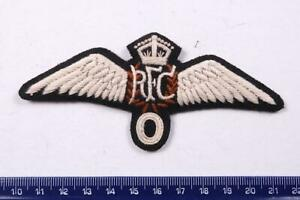 WW1 RFC PILOTS WINGS ROYAL FLYING CORPS BREVET CLOTH PILOT OBSERVER PATCH BADGE