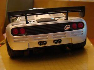1/18 Mclaren F1 Prototype Bmw V12 6.1 Le Mans Gtr Rare Lame Argent