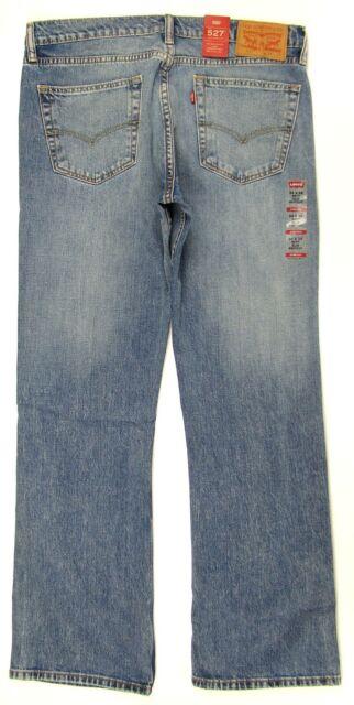d2ec916cdcc Levi's Mens 527 Slim Boot Cut Stretch Jeans - Figure Four 32x32 32 Regular