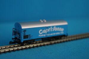 Marklin-8633-DB-Reefer-Car-CAPRI-SONNE-Blue-Z-Mini-Club