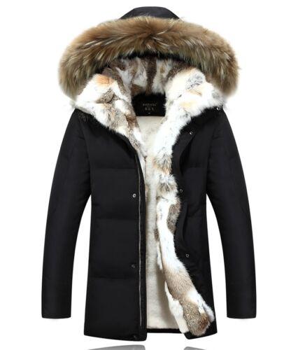 Fleece Women's Hot Fur Jacket Hooded Parka Winter Down Outerwear Coat Duck wUqOq5Cnx
