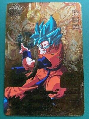 Dragon Ball Heroes Promo Card Goku Saiyan God Blue UMP-33 FREE SHIPPING NEW//GOLD