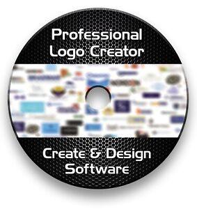 Pro Logo Maker Creator Design Software Cd Windows Vista 7 8 10 Ebay