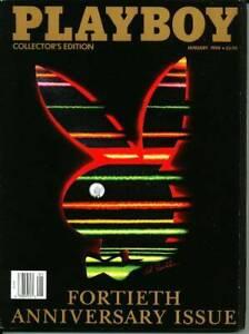 Playboy-Magazine-January-1994-40th-Anniversary-Issue