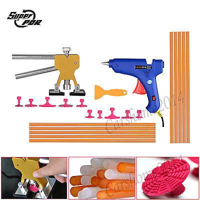Paintless Dent Repair Hail Lifter Puller PDR Tools Hot Melt Glue Gun Sticks Tabs