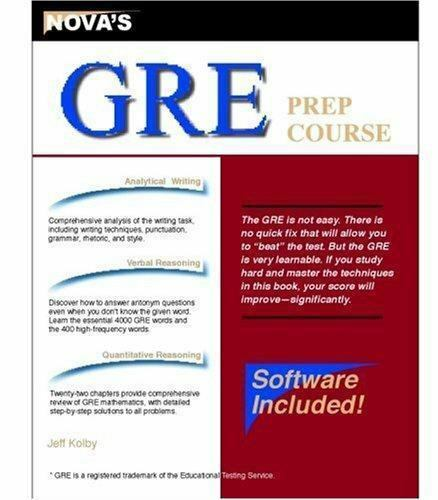 Prep Course: GRE Prep Course by Jeff Kolby (2003, Paperback, Revised) for  sale online | eBay