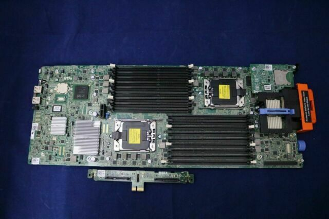 Dell 5GGXD PowerEdge M710HD Server System Board Motherboard With 2 Heatsinks