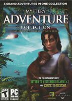 Mystery Adventure Collection 3x Jules Verne Mystery Island & Journey To The Moon