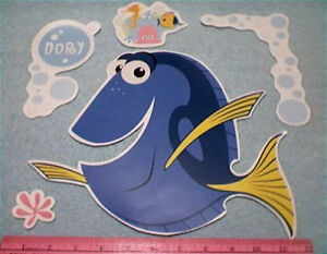 FINDING-DORY-Disney-wall-stickers-26-decals-fish-Nemo-Tad-Pearl-Starfish-bubbles