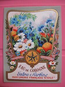 1-ANCIENNE-ETIQUETTE-PARFUM-ANTIQUE-PERFUME-LABEL-FRENCH-PARIS-PROFUMO-LABEL