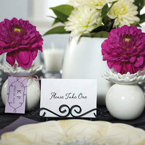72 Ornamental Wire Stationery Wedding Place Card Holders Wedding Favors