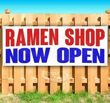 Ramen Shop Now Open Advertising Vinyl Banner Flag Sign Many Sizes