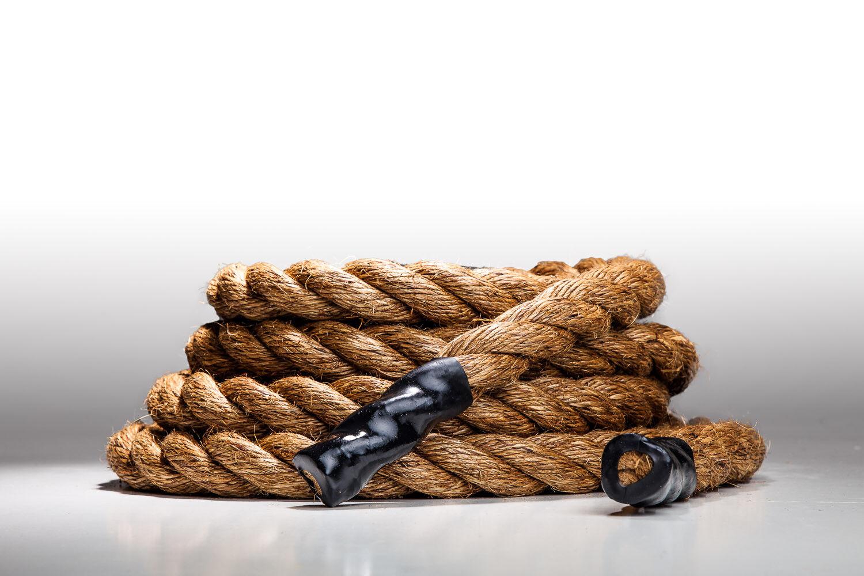 Manila Battle Crossfit Training Undulation Fitness Rope (1.5 in x 16.5-100 ft)