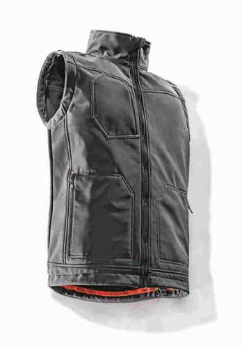 Bullstar Softshelljacke VARIO PLUS Arbeitsjacke abnehmbare Ärmel Weste Workwear
