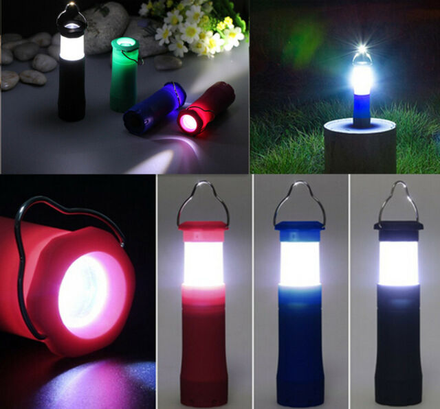 3W Tent Camping Lantern DS Light Hiking LED Flashlight IU Torch Outdoor Lamp