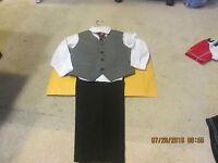 Boy's Bowen & Wright Size 5 Dress Shirt, Tie, Vest, Pants