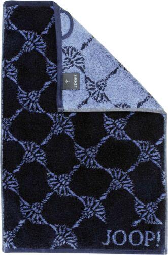 JOOP Cornflower 1611 Farbe Navy Marine blau Handtuch Duschtuch Gästetuch