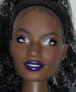 Barbie Asha Face AA African American Brunette Fashionista