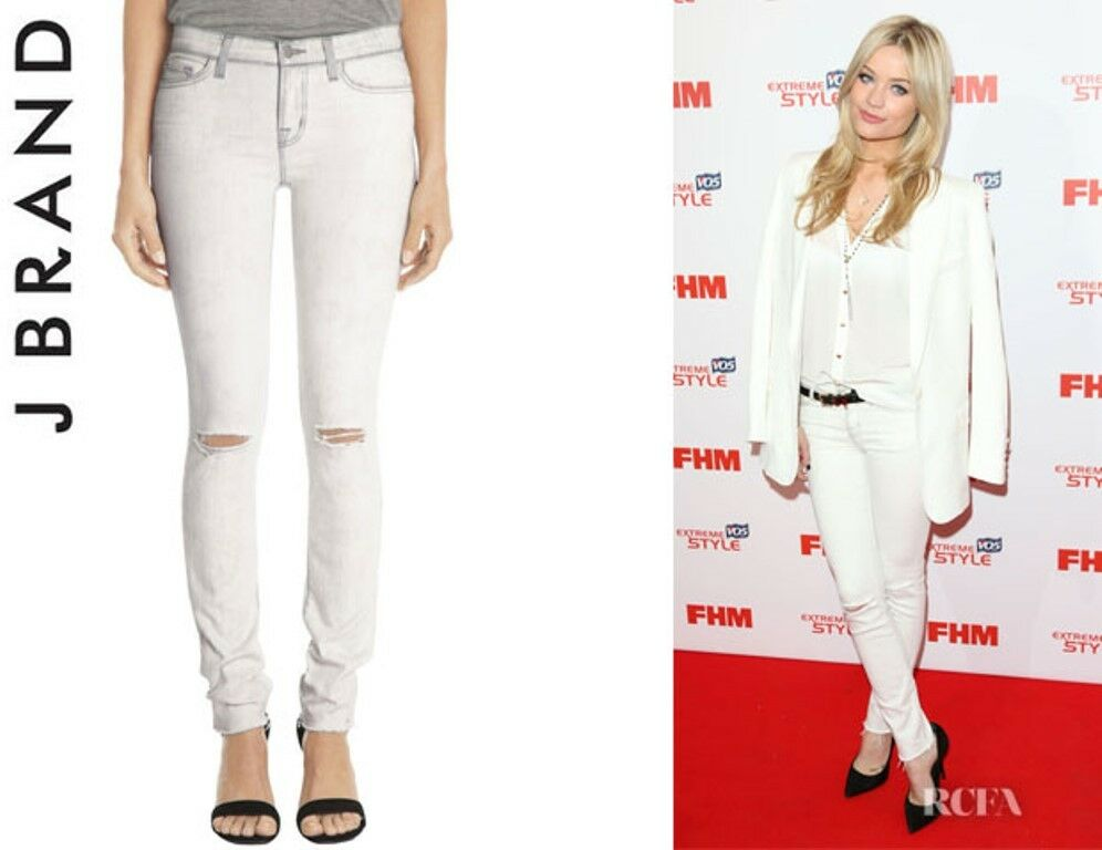 J BRAND JEANS 811 Hysteria SKINNY LEG MID-RISE Denim AS SEEN ON CELEBRITY   32