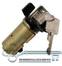 Chevy Cavalier Celebrity 82-90 Ignition Switch Lock Cylinder Tumbler 2 Key Black