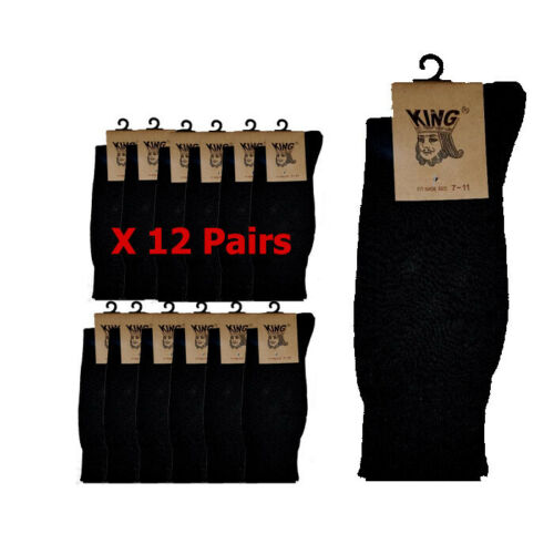 Men 6-11 Cotton Comfort Fit Black Color 12 Pairs Best Price Stock From Sydney