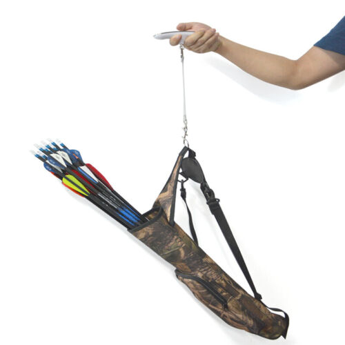 Archery Digital Bow Scale 110lbs Draw Weight Luggage Compound Recurve Bow Tool