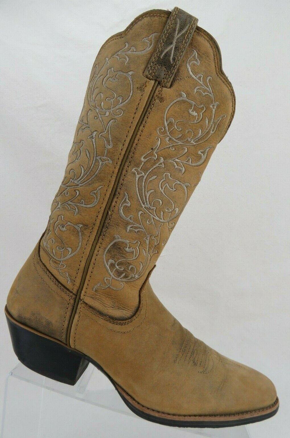 TWISTED X WWT0025 Marroneee Sz 8.5 B donna Cowboy Western stivali