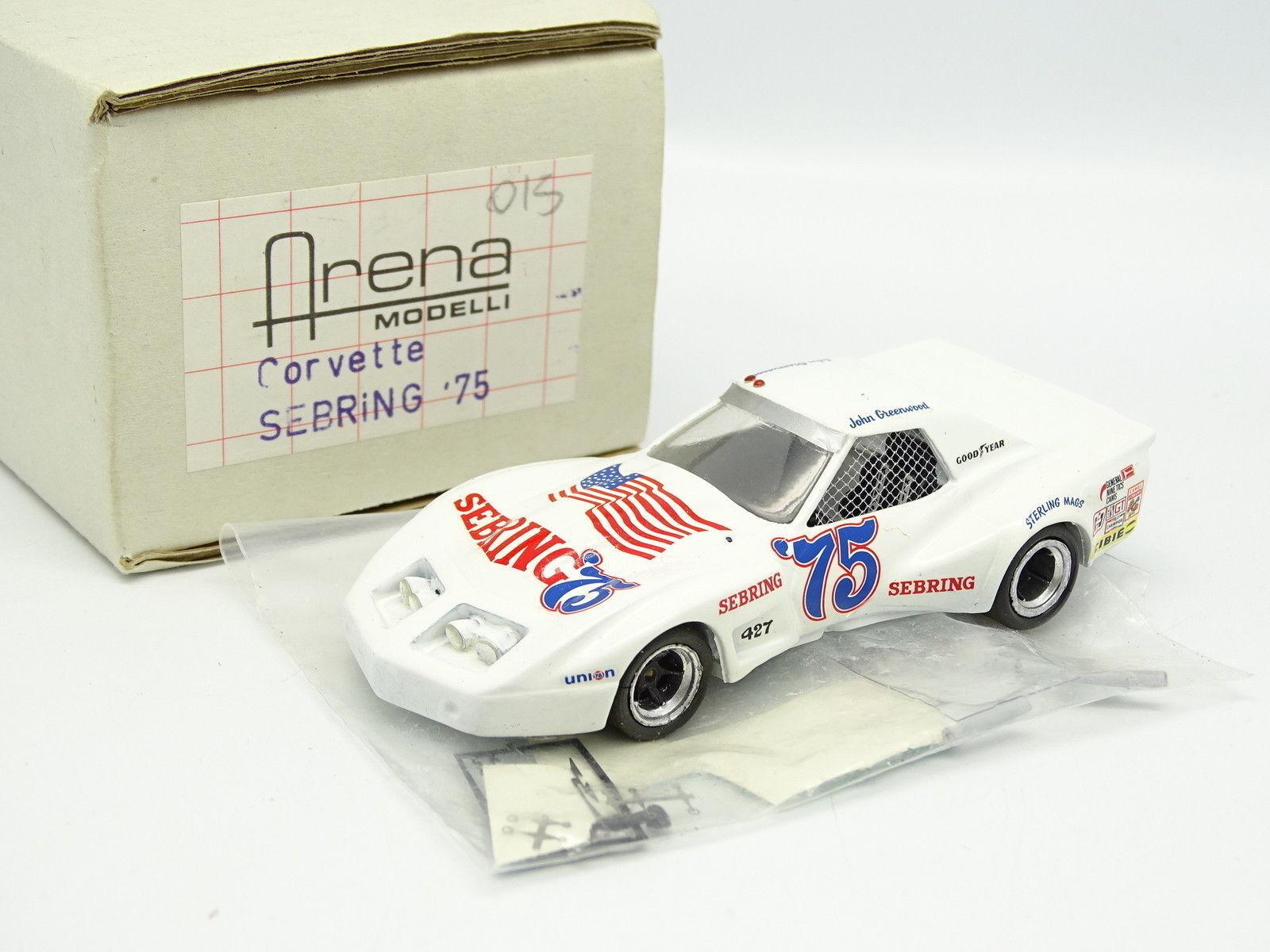 Arena Kit à Monter 1 43 - Chevrolet Corvette Sebring 1975