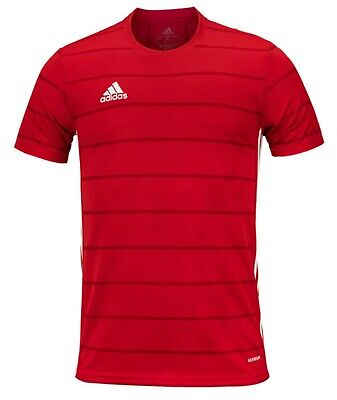 Adidas Men CAMPEON 21 T-Shirts Jersey Training Red Soccer Top Tee ...