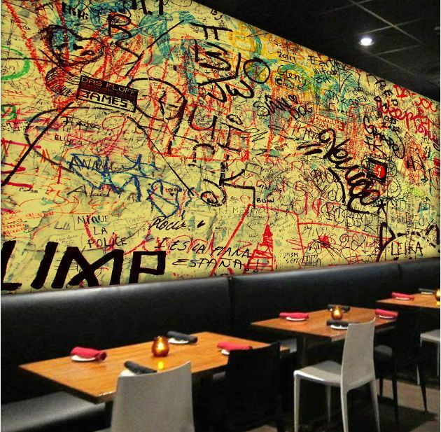 3D Earthy Graffiti 51 Wall Paper Wall Print Decal Wall Deco Indoor AJ Wall Paper