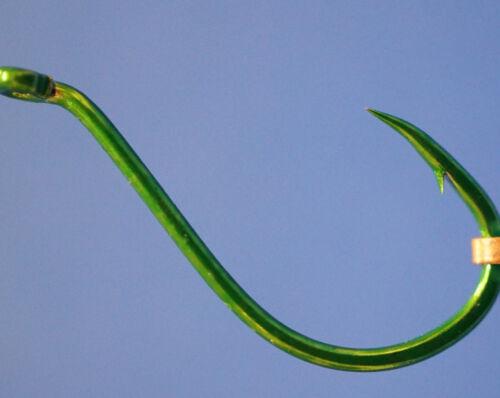 Gamakatsu Octopus Hooks Green 20 ganchos de tamaño #4