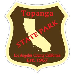 Topanga State Park Sticker R6700 California YOU CHOOSE SIZE