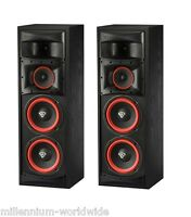 2 Cerwin Vega Xls-28 - 200w Speakers - Dual 8 Woofer - Authorized Dealer