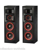 2 Cerwin Vega Xls-28 - 200w Speakers - Dual 8 Woofer - Authorized Dealer