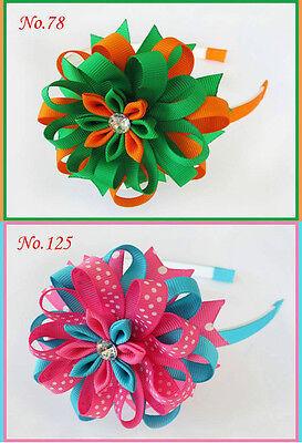 Bird/'s Nest Hair Bow Clip 158 No. 50 BLESSING Good Girl Boutique Modern Style A