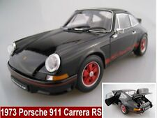 Porsche 911 Carrera RS in schwarz 1973  Limitiert  Welly  1:18  OVP  NEU