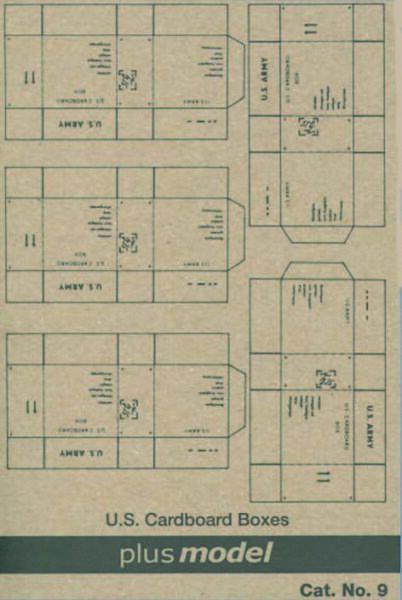 Bellissimo Plus Model 9 - 1:3 5 Kartonmodellbau U.s.trasporto Cartoni Ww Ii , 5 Pz Pro Bo Design Accattivanti;