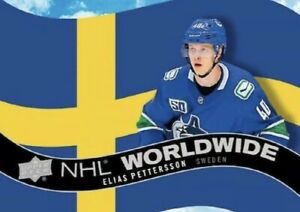 2020-21 UPPER DECK SERIES 1 NHL Worldwide PICK FROM LIST. LIVE IN STOCK