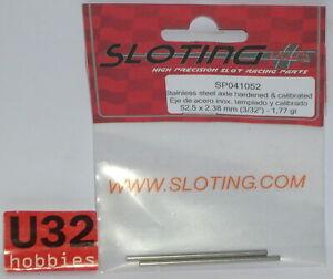Kinderrennbahnen Generous Sloting Plus Sp041052 Achse 52.5mm 1.77gr Elektrisches Spielzeug Stahl Edelstahl Kalibrierung 2.38mm To Invigorate Health Effectively