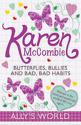 1 of 1 - Butterflies, Bullies and Bad, Bad Habits by Karen McCombie (Paperback)-G059