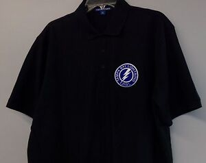 65d1f551 Details about NHL Hockey Tampa Bay Lightning Mens Embroidered Polo Shirt  XS-6XL, LT-4XLT New