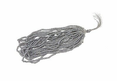 Silver Shiny Round Beads Sewing Embroidery Rocaille Jewellery DIY Decoration 2mm