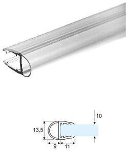 2 99 Mt Guarnizione Box Doccia Trasparente A Palloncino Per Vetro 10mm