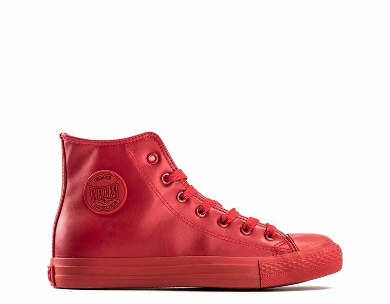 EV-238 Sneakers men red tipo CONVESE all star monochrome